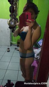 Indian teen nude selfies leaked 026