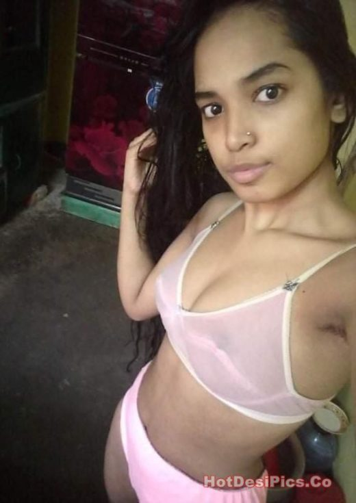 Assamese teen with small tits leaked selfies 016